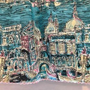 elevenses Skirts - Anthropologie Elevenses Postcard From Venice Skirt